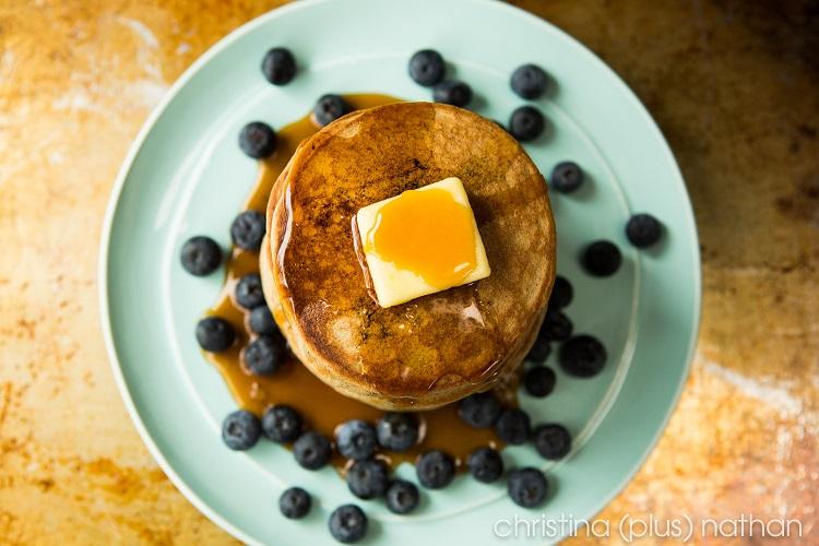 smaller pancakes