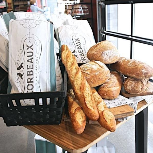 Corbeaux Bread